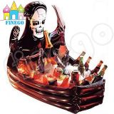 膨脹可能なHalloweenの吸血鬼の棺のビュッフェのクーラーのHallowmas党クーラー