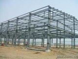 住んでいるか、または工場のためのプレハブの高層鉄骨構造の建物