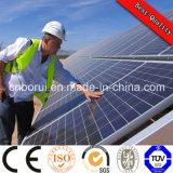 110W monocristallin Panneau solaire fabriqués en Chine, prix bas et de haute qualité pour le système PV toit et au sol