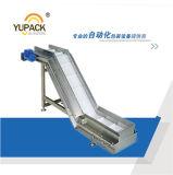 Sistema di trasportatore propenso della cinghia in PVC del commestibile