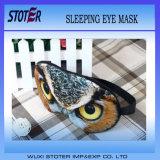2015 passen das neue lustige Baumwollgroßhandelsschlafen der Art-Qualitäts-3D Augen-Schablone an
