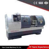 Cjk6150b-2 * 1250mm CNC Pipe Cutting 3 Gears Lathe