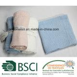 Cobertor celular do bebê do Knit do algodão