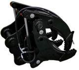 De hydraulische Hydraulische Greep voor Graafwerktuig grijpt/de Greep van het Graafwerktuig vast
