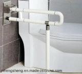 Штанга самосхвата пожилого туалета гандикапа безопасности Nylon складывая
