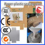 Adhésif de cachetage utilisé pour le côté mis de cachetage de Papier-Plastique de gomme