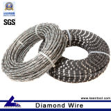 Diamante Wire Saw para Marble Quarry