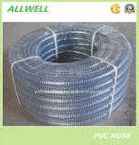 PVCプラスチック鋼線水油圧産業管のホースの管