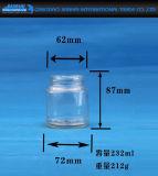 De kleine Container van het Voedsel van de Fles van het Glas van de Opslag van het Volume
