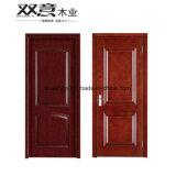 Lã pintada de alta qualidade MDF HDF Composite Interior Porta de madeira