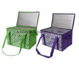 Kundenspezifischer Drucken-Aluminiumfolie-thermischer Mittagessen-Kühlvorrichtung-Isolierbeutel