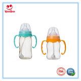 Botella de cuello ancho de enfermería PPSU Bebé con la categoría alimenticia de Chupete