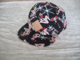 Tejido 5 Panel Camper Plaid Hat Sports Cap