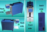 Машина маркировки волокна лазера