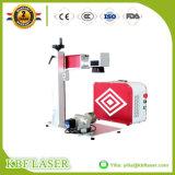 Máquina portátil da marcação do laser da fibra da alta qualidade mini para o Tag de orelha do anel/bracelete