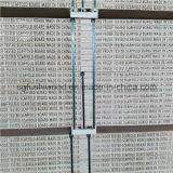 Panneau d'échafaudage en bois de LVL de pin pour des utilisations de construction