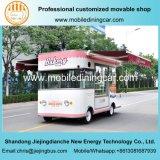 Camion électrique d'aliments de préparation rapide de roue de la bonne qualité 4 et camion de boulangerie avec du ce et le GV