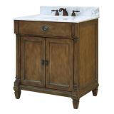 Nueva cabina de cuarto de baño de madera sólida del diseño con el espejo