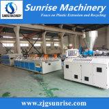 Cadena de producción plástica del perfil del PVC WPC de la máquina