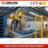Palletizer de baixo nível automático cheio para caixas e caixas