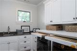 Het aangepaste Hoge Glanzende Moderne Witte Kabinet van de Wasserij