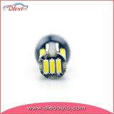 Lâmpada da volta do diodo emissor de luz do bulbo da cunha T10 a auto leu a luz de névoa