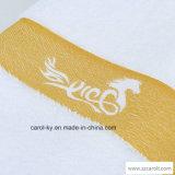 カラーによって編まれるドビーおよびロゴのホテルの織物のテリータオル