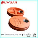 Extremidade Ductile do tampão da tubulação da carcaça do ferro com furo para a junta de Plubing