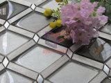 Mosaico di vetro della miscela di alluminio del Rhombus (CFA82)