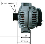 12V 150A Alternator voor Bosch Mercedes Benz Lester 11042 0124615014