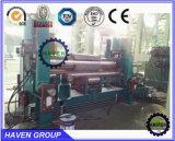 Máquina de dobra superior hidráulica da placa do rolo