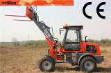 Agriculture pequeno Bucket Loader Er15 para Markets europeu