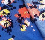 tissu estampé floral de couture de mode de tissu du Crepe 100%Rayon