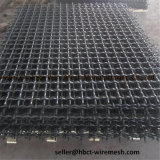 Hartstahl-Quadrat-Draht-Filetarbeits-quetschverbundener Webart-Maschendraht