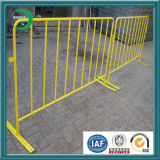 Powder poco costoso Coating Crowd Control Barrier da vendere