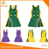 Healong卸し売り自由なデザイン昇華ネットボールの服