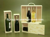 SGS ревизовал коробку вина поставщика деревянную подгонянную в Varied размерах