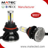 세륨 Rohh FCC 증명서 12V 24V 6000k 8000k 헤드라이트 장비 H1 H3 H4 H7 H11 9004 9007의 LED 헤드라이트