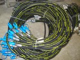 Boyau R12 en caoutchouc hydraulique de SAE 100