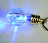 Logo Printed (3032)를 가진 소형 Flashing LED Light Keyring