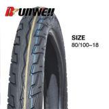 80/100-18 neumáticos sin tubo de la motocicleta de la alta calidad