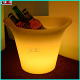 Boite de refroidissement à LED illuminée en plastique Boîte à glace