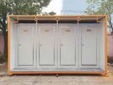 Stanza da bagno a basso costo del contenitore