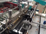 Doppelte Zeilen Hochgeschwindigkeitsc$wärme-ausschnitt PET Shirt-Beutel, der Maschine herstellt