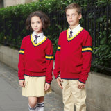 Navy Blue School Blazer and Khaki Pants for School Wear