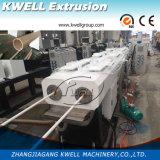China Belüftung-Rohr-Strangpresßling-Zeile/Plastikrohr-Strangpresßling-Zeile