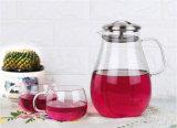 耐熱性ガラス水差しの茶コーヒー鍋のホームジュースの飲料の水差しのびん