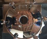 """20 """" 플랜지 유형 광경 Flass를 가진 스테인리스 외부적인 둥근 압력 Manway"""