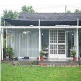私用生活のための鉄骨構造の家または組立て式に作られるか、またはモジュラーまたは移動式またはプレハブの建物