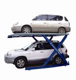 Scissor подъем стоянкы автомобилей автомобиля вспомогательного оборудования парков автомобиля